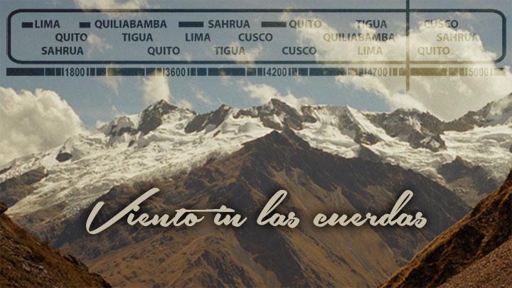 Musique du film «La voix des Andes»