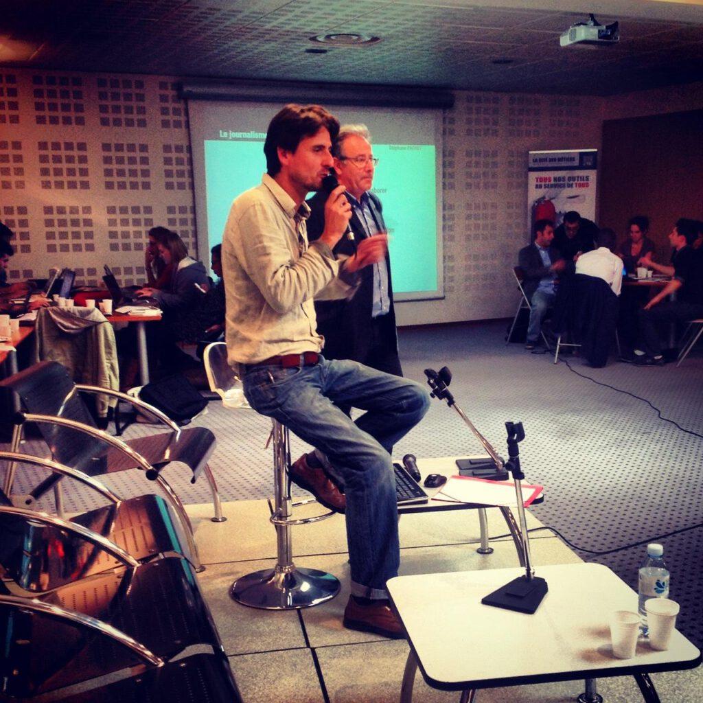 Conférence journalisme citoyen