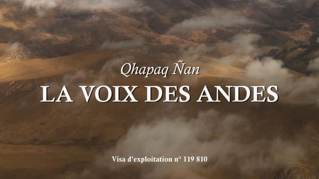 La voix des Andes sur Youtube