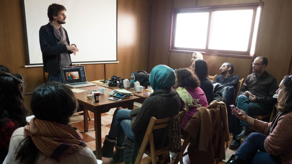 Atelier médias à Alexandrie