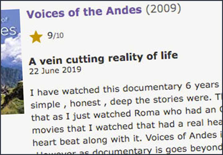 vu sur IMDb